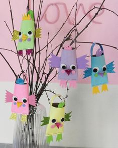 Easter Crafts, Crafts For Kids, Arts And Crafts, Eagle Craft, Kids Barn, Craft Club, Toilet Paper Roll, Camping Crafts, Summer Diy
