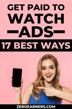 Are you looking for the best ways to get paid to watch ads? Yes? Here are some of the best ways to get paid to watch ads to make extra money. #watchads #gpt #getpaidto #makemoneyonline #makemoneyfromhome #parttimejobs #sidehustles #extramoney