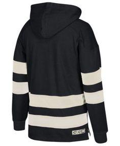 Ccm Men's Minnesota North Stars Pullover Jersey Hoodie - Black XL