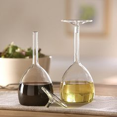 Oil and Vinegar Set. I am definitely getting this for my brother and his fiance for their new home... LOOOOVE
