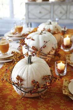 SANITY FAIR: SUPER SIMPLE THANKSGIVING TABLE DECOR