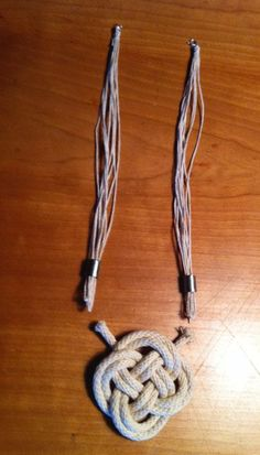 DIY Nautical Knot Necklace Video Tutorial