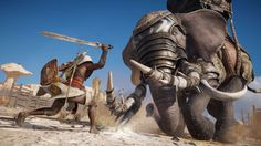 Assassin's Creed: Origins: Pre-Launch Live-Stream Aufzeichnung Assassins Creed Game, Assassins Creed Origins, Assassins Creed Odyssey, War Elephant, Elephant Icon, Master System, Live Stream, Warrior Queen, Game Sales