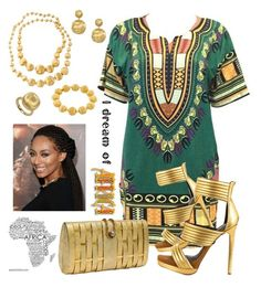 """""""Africa"""" by keila-87 on Polyvore featuring moda, Mia Limited Edition e Marco Bicego"""