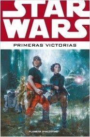#guiadeveranoAB Primeras victorias (Star wars) Tras la destrucción de la Estrella de la Muerte, Luke Skywalker se convierte en el nuevo e inesperado héroe de la Rebelión. Sin embargo, como muchos han comprendido ya, la galaxia aún no está a salvo y la lucha entre los rebeldes y el Imperio continúa.