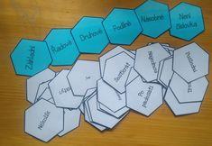 Produkt - HEXAGONY na druhy číslovek Montessori, Science, School, Autism