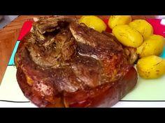 PERNIL ASSADO! FAÇA ASSIM ECONOMIZE GÁS E TEMPO! - YouTube Steak, Beef, Recipes, Food, Youtube, Tasty Food Recipes, Sauces, Rice, Meals
