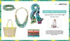 May Trunk Show Exclusive Offers | Stella & Dot