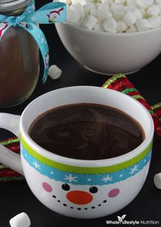 Homemade Organic Hot Cocoa Mix Recipe {A Perfect Gift For The Holidays}! - Whole Lifestyle Nutrition