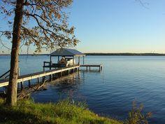 Lake Limestone near Groesbeck, Texas.