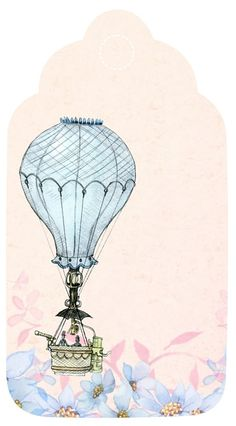 Balon Na Ogrzane Powietrze, Tag, Romantyczny, Pamiętnik