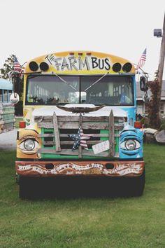 Magic Bus: The Farm Bus & Farm to Family | Free People Blog #freepeople