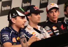 Lorenzo, Pedrosa, Marquez, Spanish MotoGP 2014