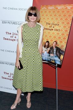 #AnnaWintour in #MichaelKors
