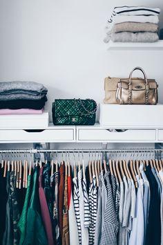 Kleiderschrank Hacks, Tipps zum ausmisten, begehbarer Kleiderschrank, Ankleideraum, Wardrobe, Walk-in closet
