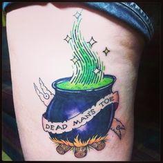 And make it a fresh one! Hocus Pocus tattoo.