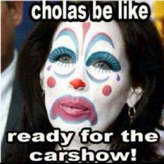 Cholas Be Like Ready For The CarShow!