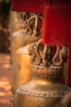 Temple Bells -- Wat Phan Tao, Chiang Mai