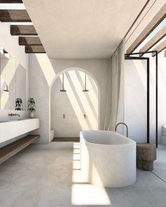 Dream Home Design, Home Interior Design, House Design, Indoor Outdoor Bathroom, British Home, Design Case, Interiores Design, Future House, Architecture Design