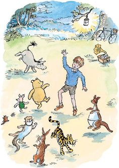 They danced a proper Hundred Acre Wood dance this time.