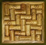 wine cork trivets from reclaimed wood...awesome! @Kate Blackshear & @Melissa Summers, y'all will like these