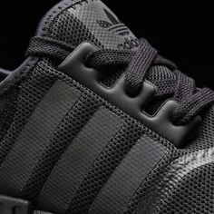b1a356a6b71a adidas NMD Triple black with Reflective Stripes💯 l Follow us on Twitter   https