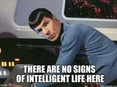 No sign of intelligent life