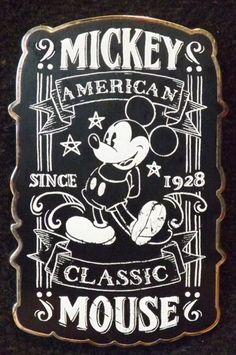 View Pin: Chalk Sketch Mickey Mouse