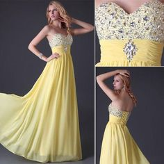 Formal Dresses - *YELLOW OR BLUE* Cruise/Formal/Bridesmaid/Party Dress - SET SIZES - FREE SHIPPING! for sale in Johannesburg (ID:189805686)