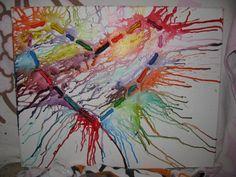 crayon art! :)