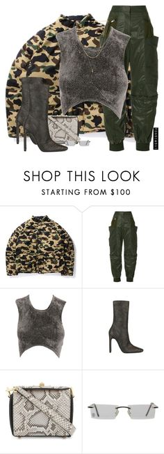 """""""io"""" by ivorionda ❤ liked on Polyvore featuring STELLA McCARTNEY, Alexander Wang, Alexander McQueen, Cartier and Vanessa Mooney"""