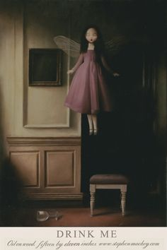Stephen Mackey ~ Drink Me. www.stephenmackey.com