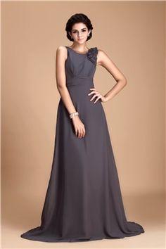 43607a8e53b8 Pretty Flowers Sheath/Column V-Neck Floor-length Juliana's Bridesmaid Dress