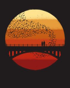 Poster   INTO THE SETTING SUN von Jay Fleck   more posters at http://moreposter.de