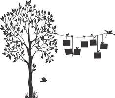 ADESIVOS DECORATIVO DE PAREDE    Adesivo Decorativo Árvore Genealógica porta retrato    Monte sua árvore genealógica! Adquira o adesivo da árvore e pendure seus fotos nela, distribuindo pelos galhos. Você mesmo pode montar sua árvore genealógica!    Tamanho 190x160cm    Contém  1 - Arvores comple...