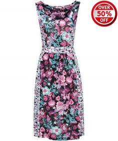 Guanacaste Jersey Dress  joebrowns.co.uk