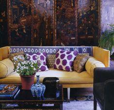 An interesting decorative screen can take the place of an eye-catching wallpaper   Folding Screens   McGrath II Blog
