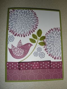 Stamping Up Card