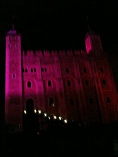 Pink Tower of London! #pinklondon