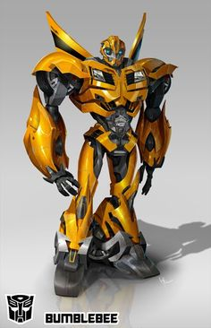 Bumblebee from Transformers: Prime. Artwork by Jose Lopez