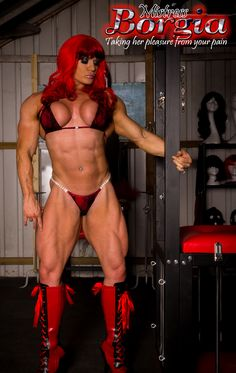 1000 images about muscle woman on pinterest female - Lisa cross fbb ...