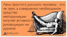 Аткрытка №403729: Лень простого русского человека - это   не грех, а совершенно необходимое   средство   нейтрализации   кипучей активности   руководящих им   дураков - atkritka.com