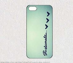 Just smile iphone case iphone 4/4S case iphone 5 cover by lafang, $6.89