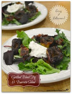 Grilled Black Fig an