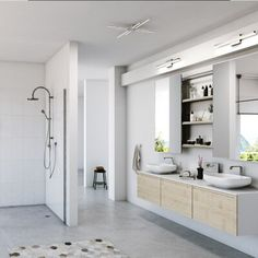 Led Vanity Lights, Vanity Lighting, Cool Lighting, Bathroom Lighting, Single Bathroom Vanity, Small Bathroom, Bathroom Ideas, Master Bathroom, Downstairs Bathroom