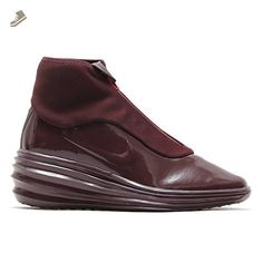 Nike Womens Lunarelite Sky Hi Sneakerboot Trainers 684949 Sneakers Shoes (US 8, Burgundy-Hypr Grape 601) - Nike sneakers for women (*Amazon Partner-Link)