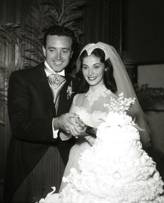Beautiful Pier Angeli married crooner and actor Vic Damone in something of an unexpected ceremony on the 24th November 1954