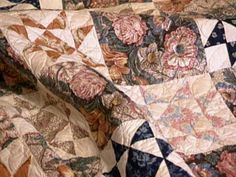 Marsha McCloskey and Sharon Yenter share high-impact, low-contrast quilts. From the experts at HGTV.com.