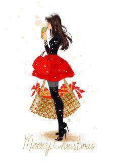 Merry Christmas, Christmas Mood, Christmas Clipart, Christmas Quotes, Christmas Images, Vintage Christmas, Xmas, Illustration Noel, Christmas Illustration