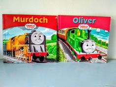 Thomas the tank engine book,  Thomas book, children's book, English, Steam train, collectable, Oliver, Murdoch. Disney Cars Party, Car Party, Disney Nursery, Great Western, Baby Mouse, Jungle Party, Thomas The Tank, Lightning Mcqueen, Thomas And Friends